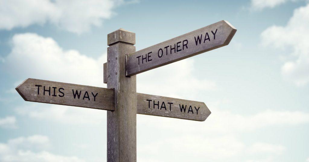 Balans4you Blog Ik sta op een kruispunt en vind het moeilijk te kiezen